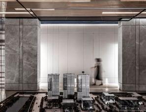 玮奕国际设计--谁说售楼处总是千篇一律?这个格调真高级