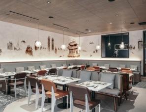 新实建设计--纽约山海餐厅