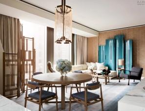 André Fu傅厚民设计--53W53 纽约曼哈顿36层豪宅样板房