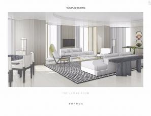 YABU雅布北京梵悦108高级住宅大堂及样板间