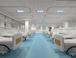 医院病房设计案例效果图