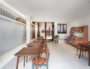 南京悦设空间设计--观茶庭