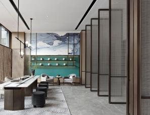 矩阵纵横设计--成都旭辉江山和鸣售楼处