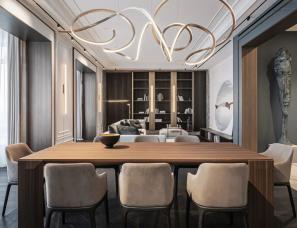 YODEZEEN Architects   252㎡顶级豪宅演绎当代经典