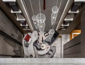 飞视设计+左木设计--新城玺樾门第合院样板间