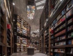 唯想建筑李想设计--上海芮欧钟书阁