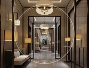 无间设计吴滨作品--宁波财富中心-总统套
