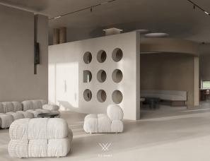 菲拉设计  「迪欧展厅」极简