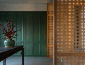 贝瑞设计 | 展小宁 · 远山在前,梨园茶林环绕-函园书院