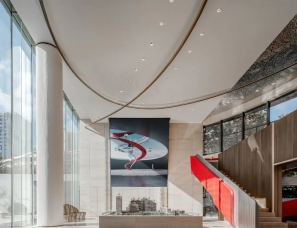 尚诺柏纳设计--上海保利天汇销售中心
