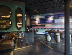 陈飞波室内设计事务所—秀江南餐厅
