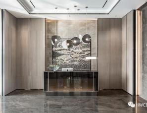 HWCD设计--重庆悦溪•正荣府售楼处+样板间