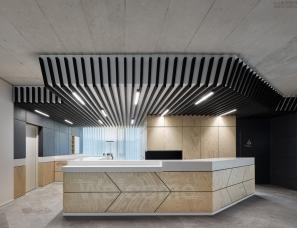 休闲工业风办公室设计