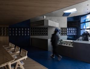 开尺设计   理想之蓝咖啡