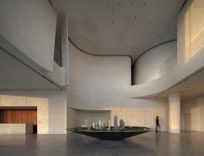 水相设计--青岛灵山湾悦府展示中心