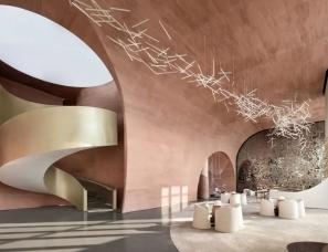 集艾设计 | 杭州朝悦江山城售楼部+两套样板间