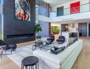 洛杉矶5000㎡的豪宅 | Ramtin Ray Nosrati+Huntington Estate Properties
