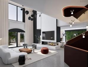 孟也设计--嘉兴金都夏宫900m²别墅设计方案