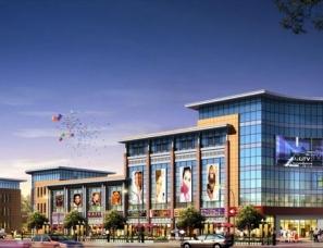 商场建筑外观设计案例效果图