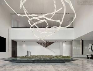 奥迅设计--中山鸿基金色年华·悦府城市艺术展厅