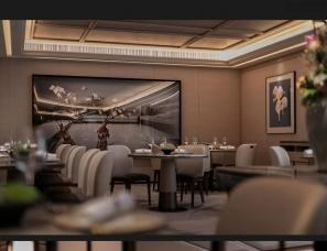 梁志天设计--香港明阁中餐厅