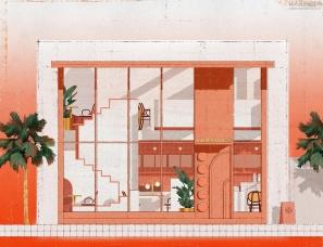或者设计--YEAMOO盐木茶饮店