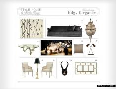 美国设计师做的FF&E\家具软装搭配方案