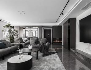 简狄设计事务所--145㎡套内面积的家,有60㎡大客厅