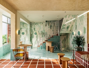 Ksoul Interior Design Studio--Den Da咖啡店