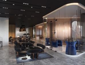 IQOSA Architect设计--现代办公空间