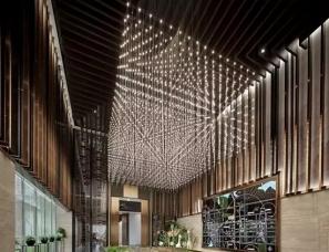 天坊室内设计--武汉人福国际健康城售楼处+样板间