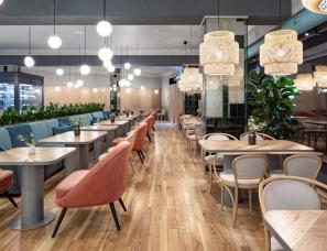 Leo D'uk Design--博物馆内的咖啡店 Benedict cafe