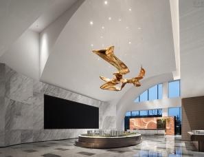牧笛设计--正荣美的天津和筑梅江体验中心