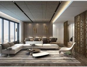 李玮珉设计--静安上海曹家渡项目样板间方案