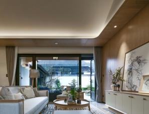 杭州形意内建筑设计--银润蓝城·天使小镇样板房