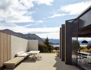 Fearon Hay--新西兰瓦纳卡湖景之家150㎡