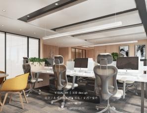 办公室-前台,经理室,会议室-效果图表现