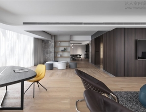 MoleDesign--高层住宅楼内的公寓