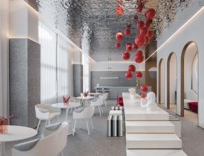 KOYI柯翊设计--上海阳光城售楼处+样板房