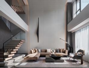 元禾大千+名艺佳装饰设计--长沙中交建发松雅院上叠样板间