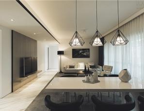 深圳于强室内设计师事务所--华润城·润府样板房