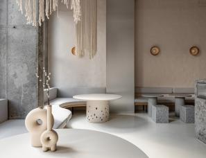 Yakusha Design Studio--Istetyka基辅餐厅