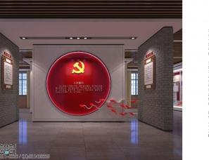 党建案例:党建文化展馆——杨强设计