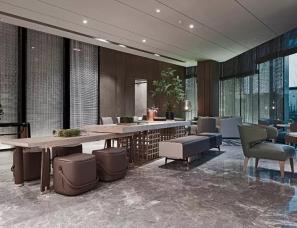 飞视设计--山东绿地国际金融中心IFC展示中心