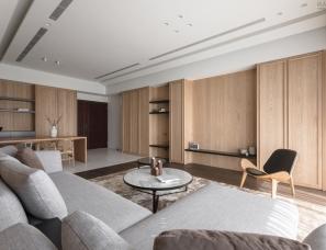 工一设计--木质简约风,温馨舒适、随性无拘束的家
