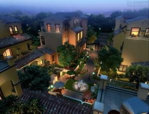别墅庭院设计案例效果图