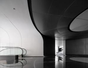 共生形态--广州空港中央商务区空港融创中心展示区