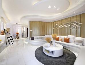 广州道胜设计--保利银滩别墅《天际线》