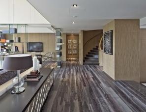 雅布设计--广州汇景新城•龙熹山1期2期样板房三套含素材