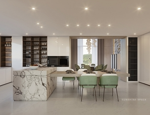 尚舍一屋--独栋别墅.在安静优雅的空间里生活1000㎡